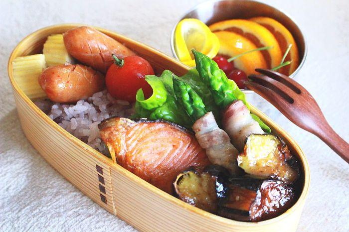 Sleeping In Late ⏰💦 Japanease Lunch Bento Box Salmone Kendo Kendo Practice 息子弁当🍱
