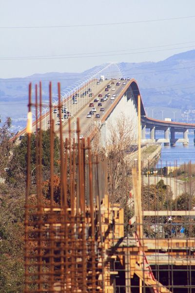 Bridge - Man Made Structure Bridge Globalization Concrete Jungle Iron Rust San Francisco Bay San Mateo Bridge San Mateo Foster City View
