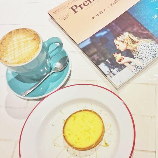 Lemon Pie Magazine Afternoon Afternoon Tea Latte Yummy Food