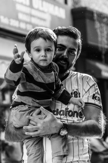 Two People Togetherness Child Happiness Portrait Looking At Camera Cheerful Myson MySON♥ Portrait Photography Portrait Of A Child Childhood People Boys Smiling Real People Street City Life Perpective EyeEmNewHere