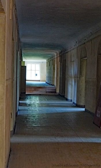 Lost Places Abandoned Arcade Architecture Building Built Structure Ceiling Corridor Day Direction Door Empty Entrance Flooring House Indoors  No People Old The Way Forward Tiled Floor Wall - Building Feature Window