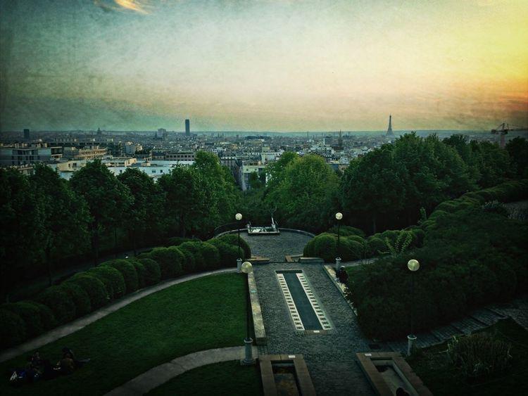 Paris City Enjoying The View Great Views