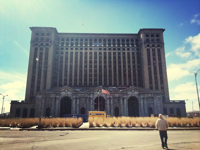 Michigan Central Station Urban Decay Enjoying The View Detroit