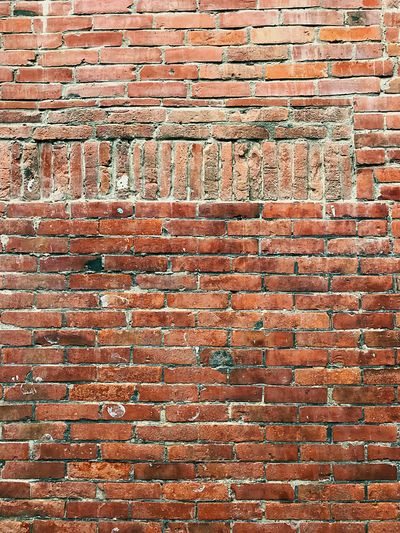 brick wall Full Frame Backgrounds Brick Brick Wall Pattern No People Textured  Wall Built Structure Architecture Wall - Building Feature Repetition Day Brown Close-up Arrangement Wood - Material Design Art And Craft