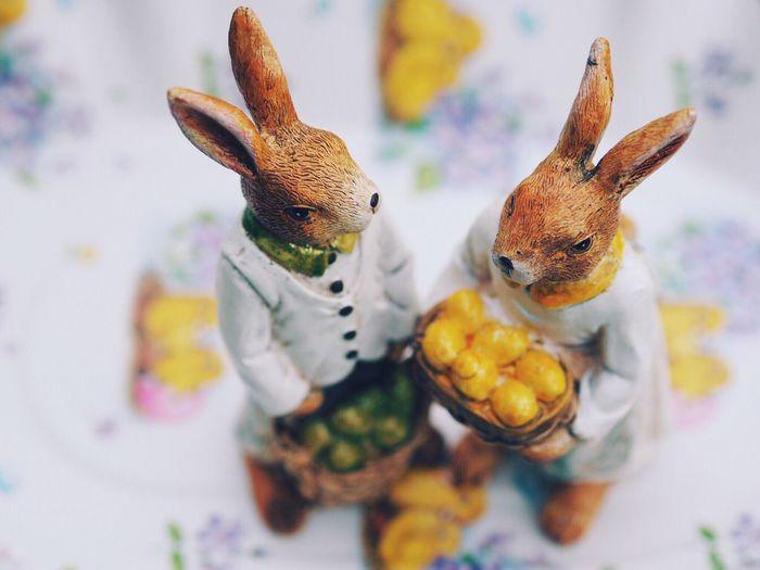 Figurine Of Easter Bunny