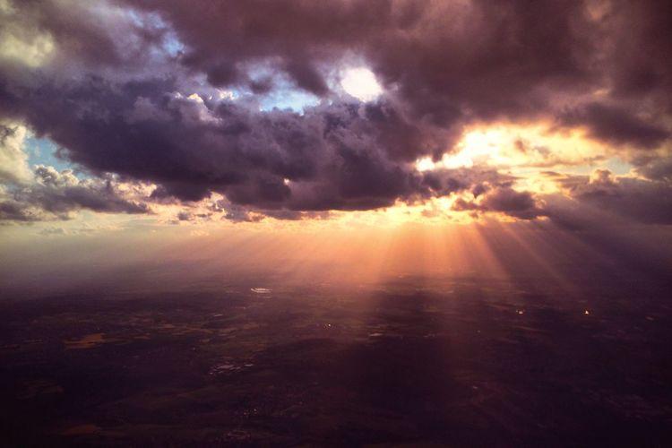 Sunset From An