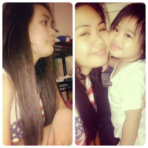she made my life complete.. :) Mother & Daughter ♥ Mylife