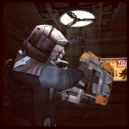 The most Nostalgic Weapon in Deadspace  PlasmaCutter Android HTCOneX Gaming Gamer