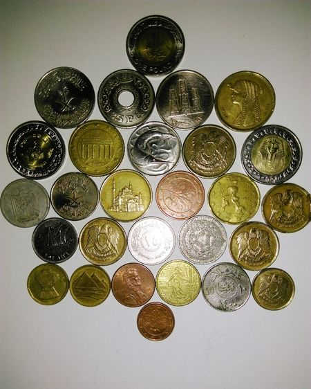 My Collection Coins Collection Variation Large Group Of Objects Indoors  No People Close-up Day