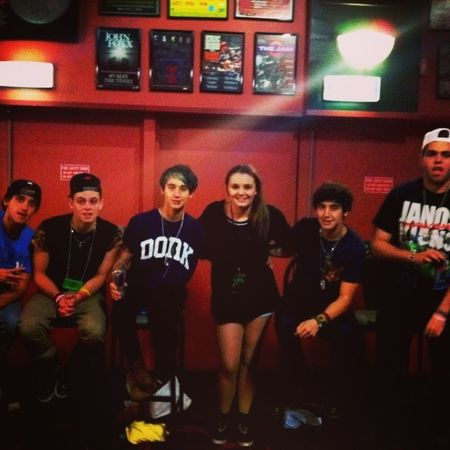 this was taken on the 22nd of June but it was at the Janoskians Concert. VIP!!!!