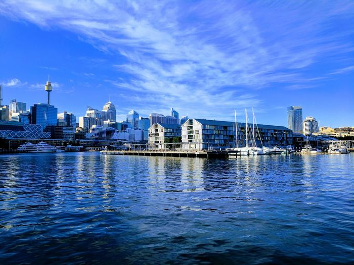 City Waterfront Water Cityscape Sky Sea Ocean Sky Sun Nature Sunset Harbor Blue Outdoors Sea Sunrise City Sydney