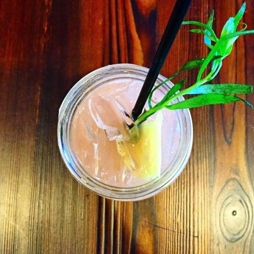 Pastel Power Cocktails Grapefruit Jar