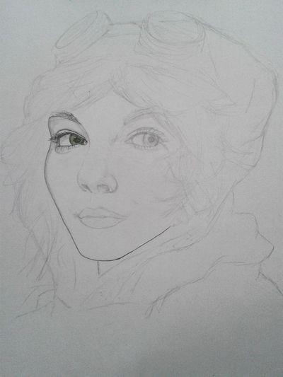 Desenho Draw Gotham Catwoman Selinakyle Sketch Beginning