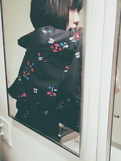 Found this short kimono jacket by chance. So i decided to buy it as my CNY present:p Chinese New Year Present Spring Festival