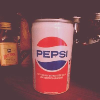 Retro Pepsi Old French small can vintage 1980s 80s
