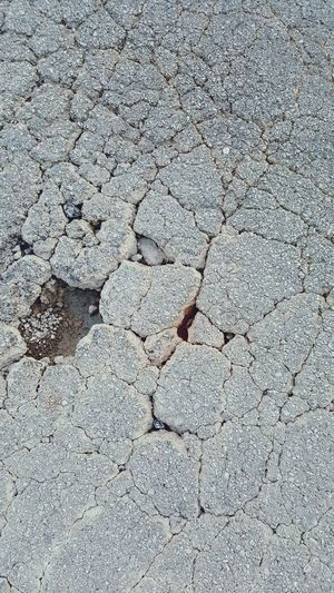 Outdoors Backgrounds No People Textured  Close-up Road Cracks Distress