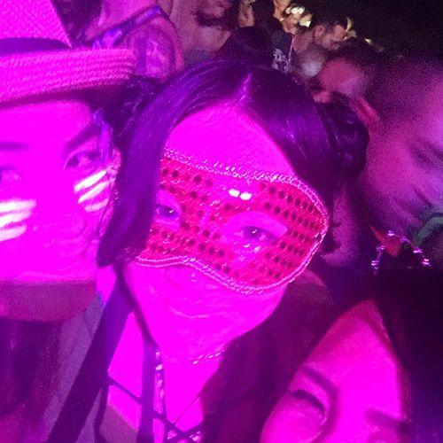 人種とか性別とか無意味 Mask Koh Phangan Thailand Full Moon Party Kinkygirl