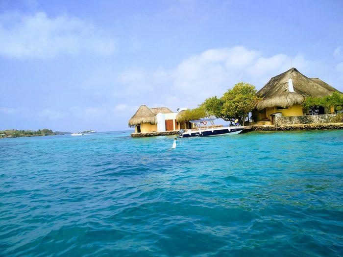 #NoFilter #islasdelrosario #Cartagena #Colombia #Island #bluewater #Caribbean #caribbeansea