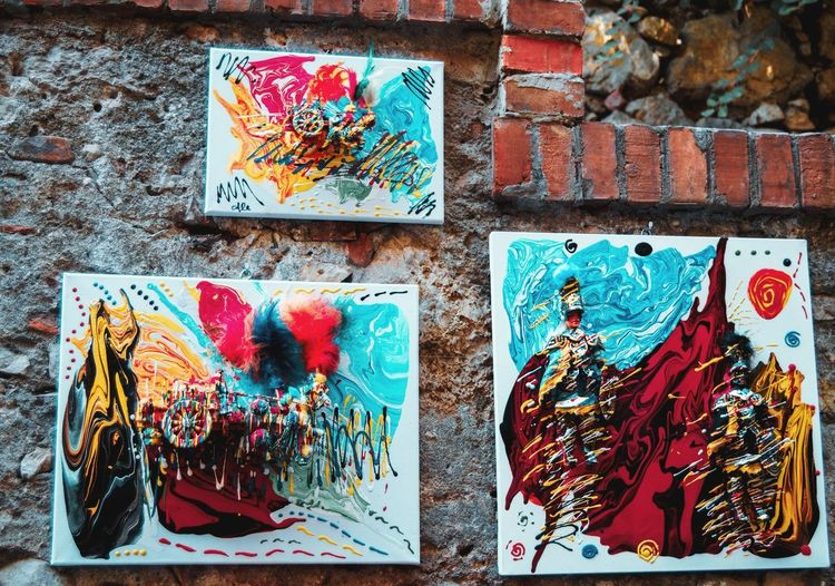 art Multi Colored Full Frame Variation Close-up Weathered Transfer Print Vandalism Peeling Off Deterioration Bad Condition Peeled Street Art Graffiti Run-down Damaged Auto Post Production Filter Abandoned Ruined Obsolete Rusty Discarded Interior Destruction Civilization Spray Paint Decline Shipwreck Old Ruin Worn Out Handprint