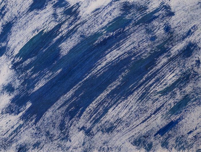 Full frame shot of blue flooring