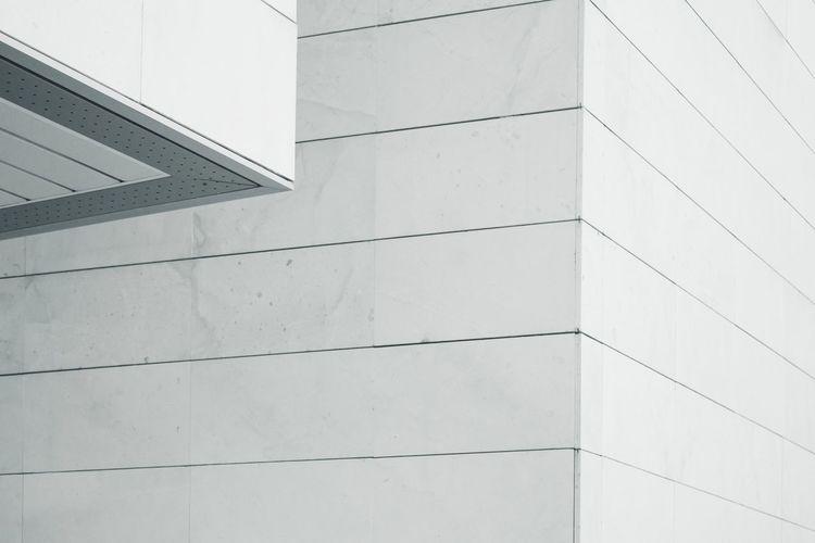 Abstract facade