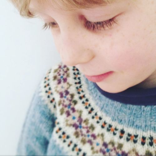 Pastel Power First Eyeem Photo Pastel Blue Soft Cute Sweet Child Childhood Fairisle Jumper Sweater Boy Youth