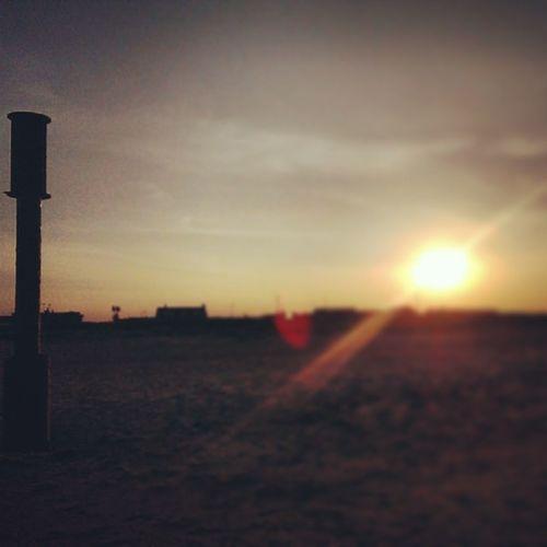 Sunrays Sunset Caister Caisteronsea instagram instapic htc1 htcone