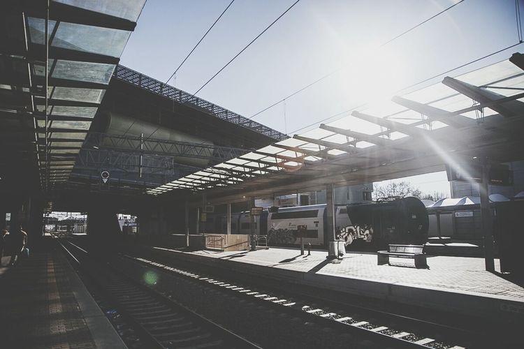 Back in Rome! Stazione Tiburtina Train TAF Bombed Train Toolsfkz