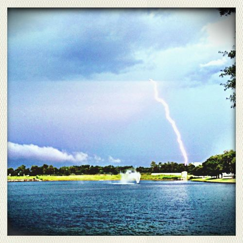 Thunder And Lightening Storm