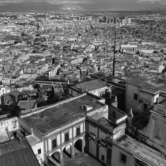 Napoli Naples, Campania, Italia Italy Aerial View Black And White City City Life Cityscape Cityscapes Colorful Famous Place High Angle View Italia Italy Landscape Napoli Point Of View Residential District Sightseeing Spaccanapoli Summer Tourism Town TOWNSCAPE Travel Travel Destinations Traveling Vacation