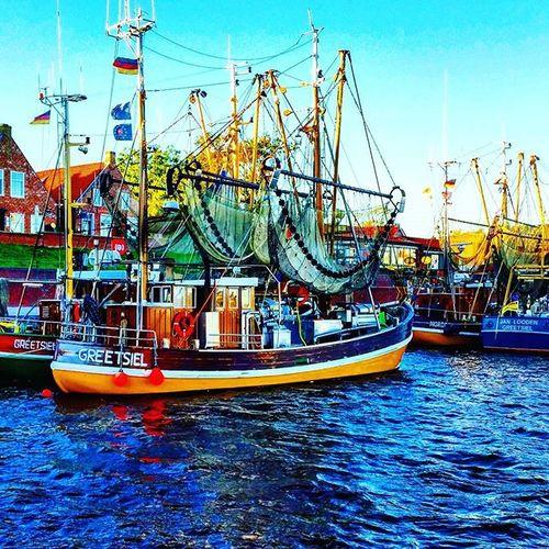 Nordseeküste Greetsiel Krabbenkutter Urlaub2015