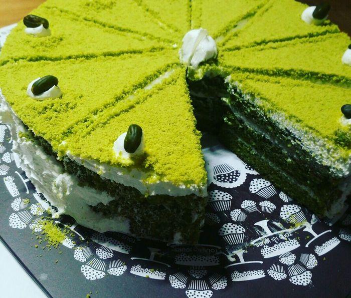 녹차케이크 ! Cake Greentea Greentea Cake Dessert 케잌 케이크 녹차 녹차케이크 후식 디저트