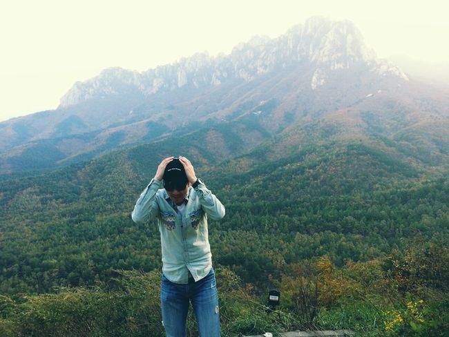 Mountains Relax Trip Wind Korea 설악산 Sightseeing Enjoying The Sights