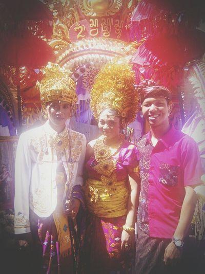 Endek Balinese Bali Family