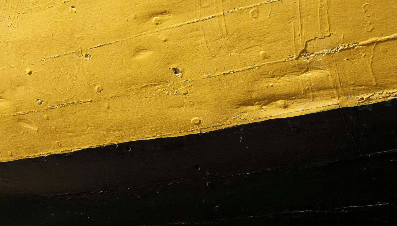 yellow, textured, full frame, paint, built structure, no people, architecture, close-up, day, backgrounds, outdoors