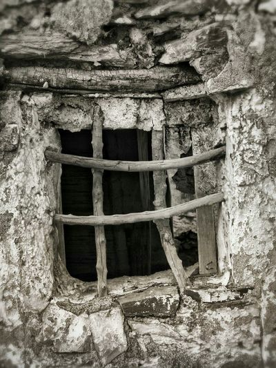 Bars of wood. Old Window ruin Arroyo Jevar Ruin Window Abandoned Places Campo Campo House Andalucia Spain this wall is no longer standing. Andalucia Rural Awehaven's Andalucia