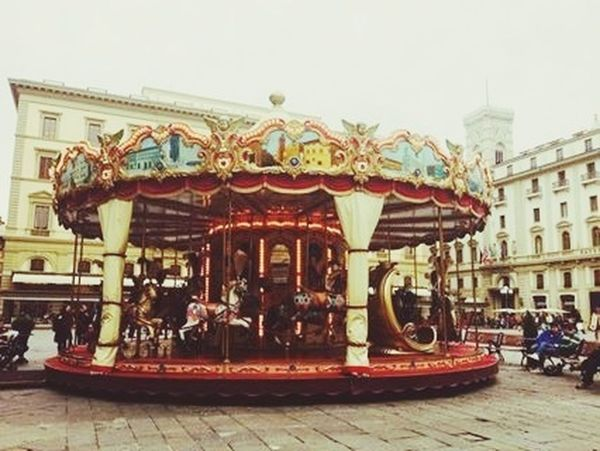 Travelling Italy Merry Go Round