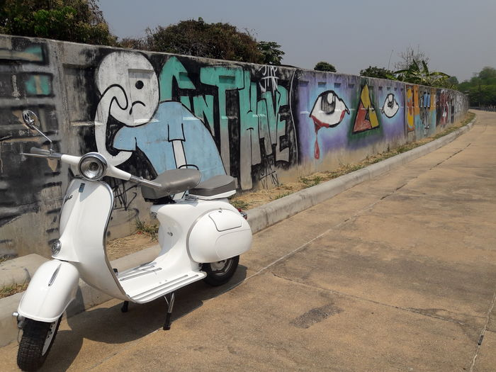 Scooter Painted
