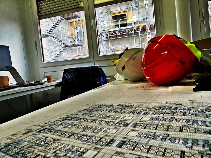 Theory And Practice Plans And Reality Architecture Office Inside Looking Out Indoors  Window Construction Site Citylife Frankfurt Is Growing Germany🇩🇪 EyeEm Selects Let's Go. Together. Investing In Quality Of Life