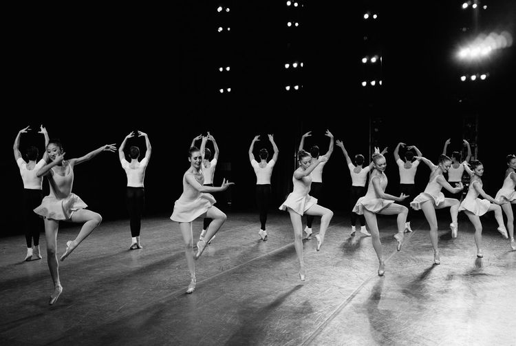 Dancing Around The World Le Tombeau New York City Ballet Capturing Movement Black & White Dancers Lines Great Performance