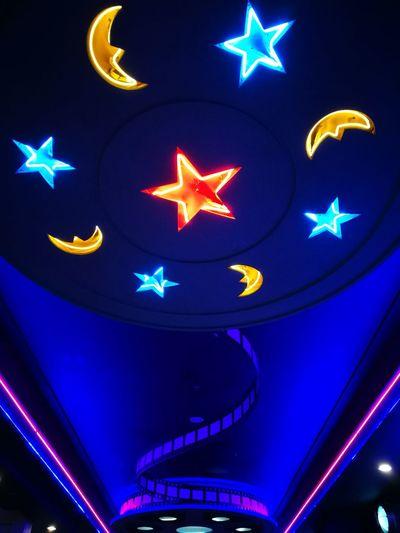 披星戴月 Indoor Photography Colour Of Life Star And Moon PhonePhotography Handphonephotograhy