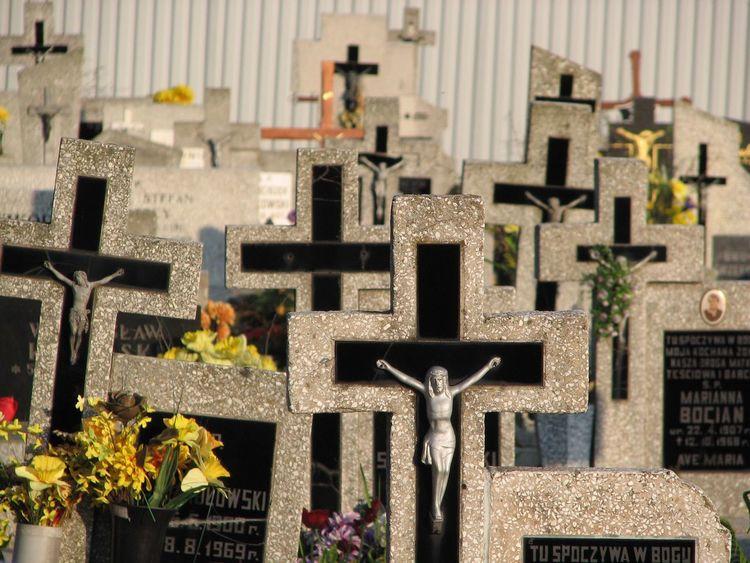 Cmentarz Lubicz Krzyż Cemetery Graveyard Cross Grave Gravestone Las Krzyży