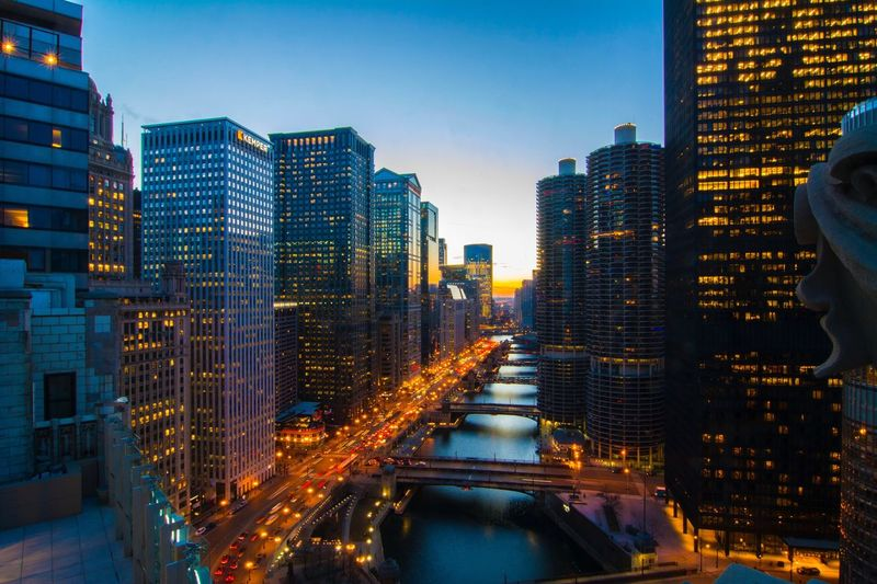 Modern Buildings In Chicago