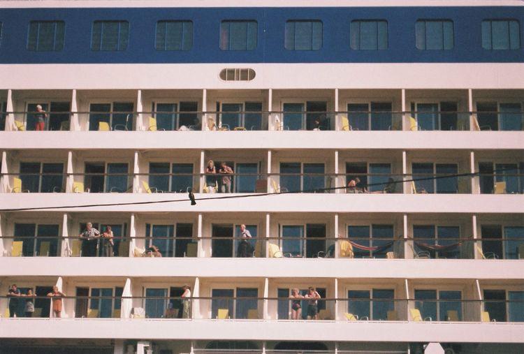 Holiday ship Cruise Ship Summer People Sailing