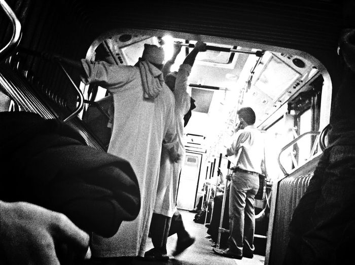 Tonight Is On The Bus Blackandwhite Streetphoto_bw