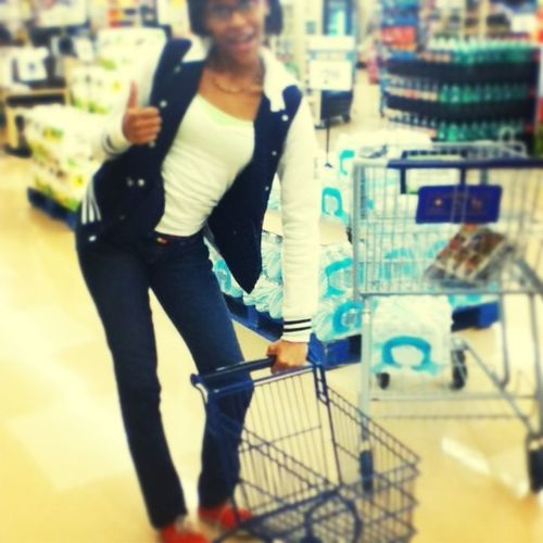 when we was at food lion :)