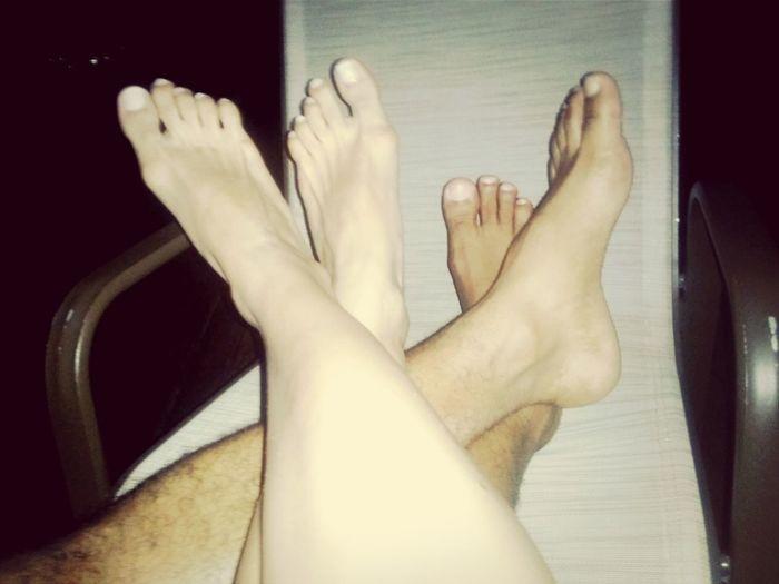 De pernas pro ar..! AmarÉTãoBom
