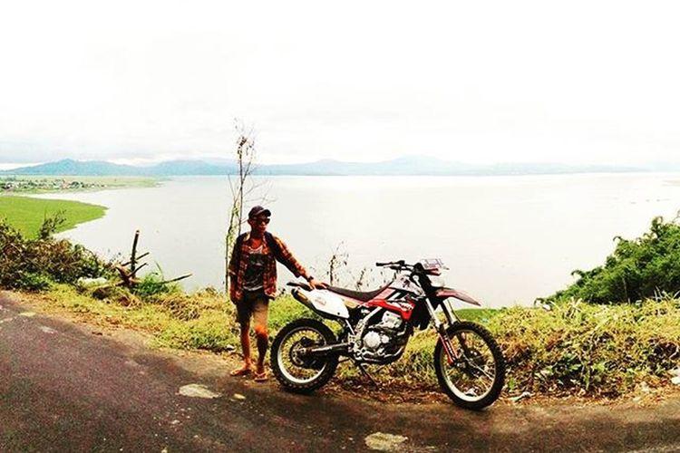afternoon getaway Danautondano Lake Laketondano Klx250 Kawasaki Dynojet Kakaspunya