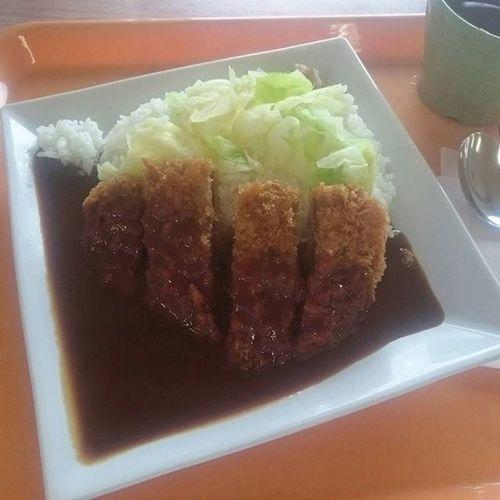 社食~(^-^) 岡山名物 デミカツ丼(460円) J社食シリーズ なかなかやるやろ ソースが甘い 美味そうに撮りたい