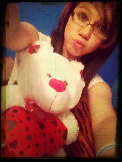 With Teddy Bear^.^